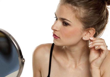 Ohren anlegen (Ohrenkorrektur)   Operation, Fadenmethode
